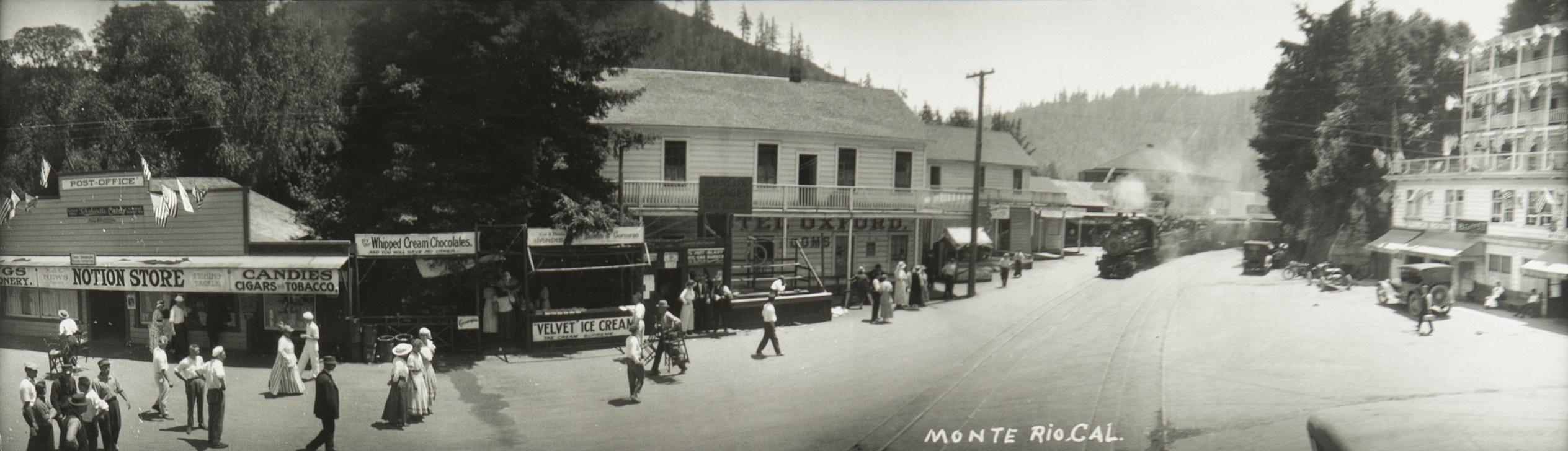 Monte Rio Town 1900s