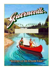 Guerneville Poster