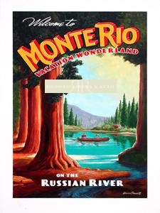 Monte Rio Poster