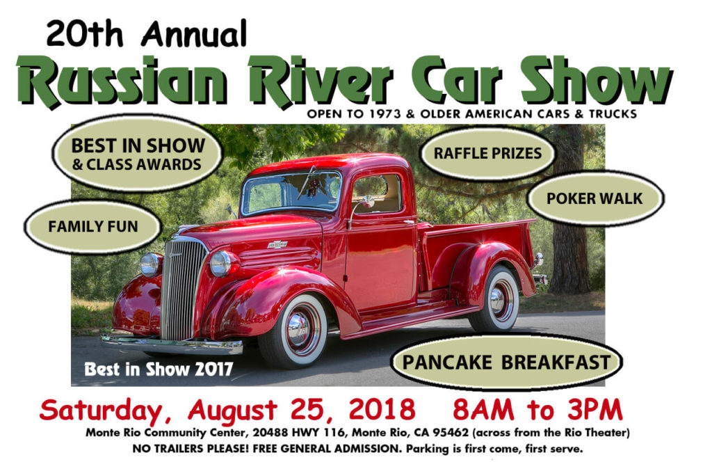 Annual Russian River Car Show Russian River Historical Society - The car show