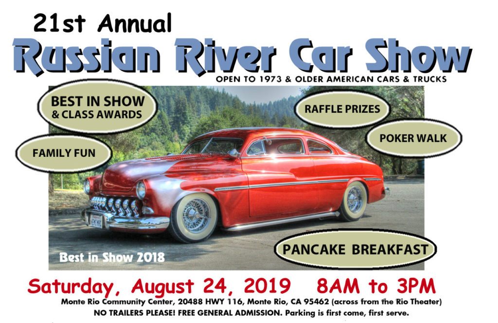 Annual Russian River Car Show | Russian River Historical Society